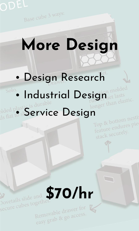 Services - More Design
